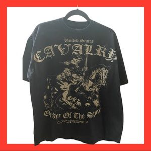 United States Cavalry order of the Spur t-shirt